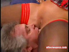 Ava Dne   Oriental Pussy Licking Action