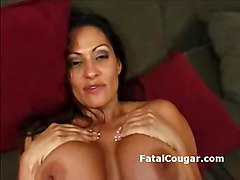 Fat Ass Older Milf With Huge Boobs Rides A Dick Hard And Dee