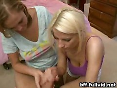 Teen Girl Threesome