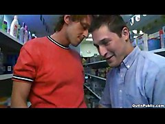 Store Isle Blowjob - Outdoor Gay Public