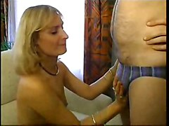 Blonde French Milf Anal Sex