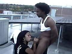Fucking On Rooftop