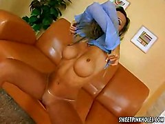 Hot Babe Morgane Solo At Sweet Pink Holes