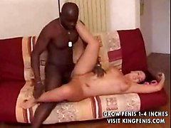 Chubby Busty Redhead Loves Bbc Part1