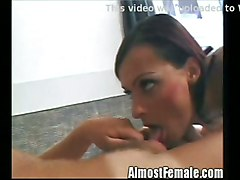 T-girl Fucks Her Boyfriends Ass