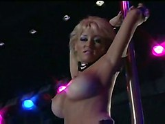 Jill Kelly Strip Show - Part 1