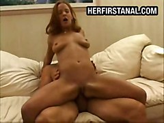 Redhead Teens First Anal Fucking