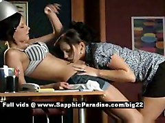 Eva And Anastasia From Sapphic Erotica, Lesbian Girls Undres