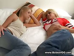 Lesbian Action From Hot Teen